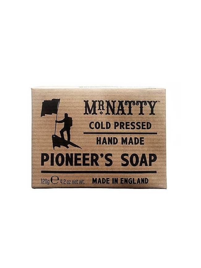 "Jabón corporal ""Pioneer's Soap"" de Mr Natty (120gr)"