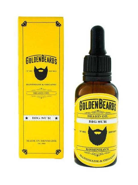 """Aceite para Barba """"Golden Beards Big Sur"""" (30ml)"""