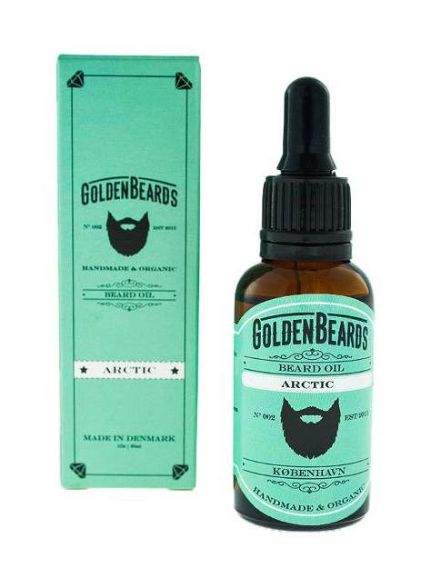 "Aceite para Barba ""Golden Beards Arctic"" (30ml)"