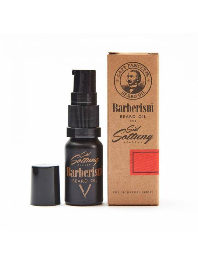 "Aceite para Barba ""Captain Fawcett's Barberism Beard Oil"" (10ml)"