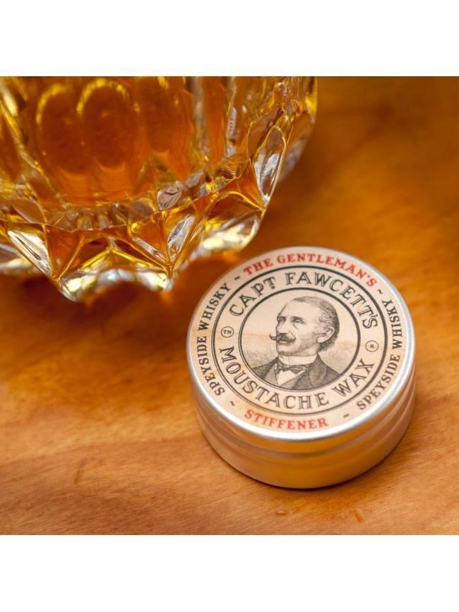 """Cera para Bigote """"Captain Fawcett's Gentleman's Stiffener Malt Whisky"""" (15ml)"""