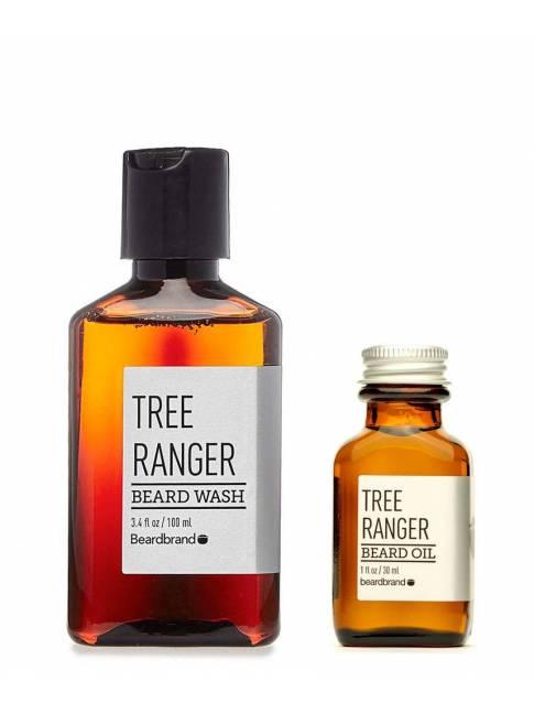 "Pack de Aceite y Jabón para Barba ""Beardbrand Tree Ranger"""