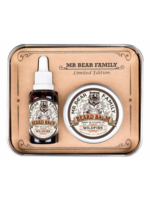 "Pack de Aceite y Bálsamo ""Wildfire"" Edición Limitada de Mr. Bear Family"
