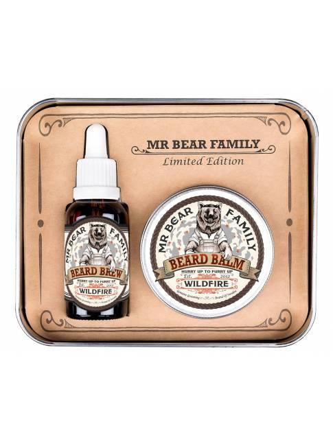 "Pack de Aceite y Bálsamo ""Wildfire"" Edición Limitada de Mr. Bear Family"