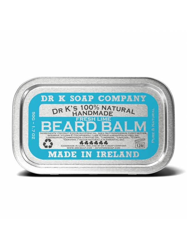 "Bálsamo para Barba ""Dr. K Fresh Lime Beard Balm"" (50gr)"