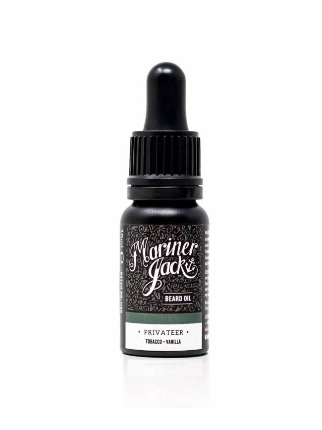 "Aceite para Barba ""Privateer"" de Mariner Jack (10ml)"