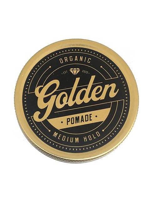 """Pomada orgánica para el cabello de """"Golden Beards"""""""
