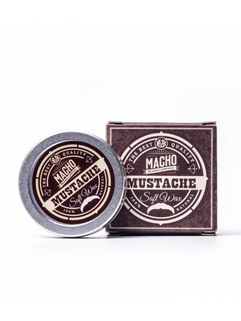 "Cera para Bigote ""Macho Beard Company Soft Wax"" (15ml)"