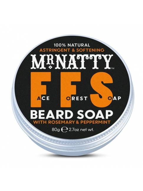 "Champú para Barba ""Mr. Natty Face Forest Soap"" (100ml)"
