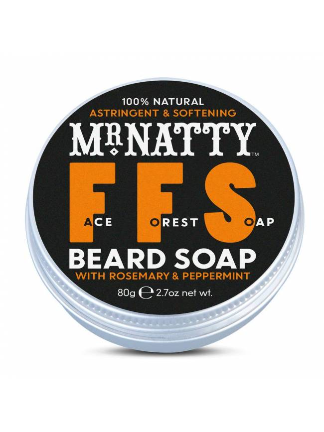 "Champú para Barba ""Mr. Natty Face Forest Soap"" (100ml)"