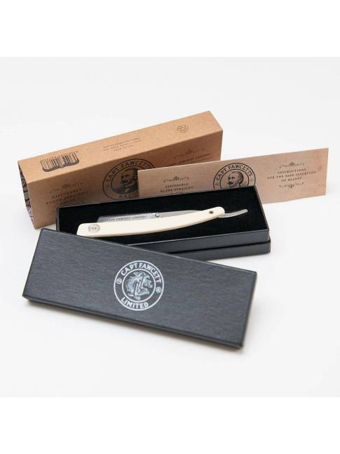 "Navaja de Afeitar ""Disposable Blade Straight Razor"" de Captain Fawcett"