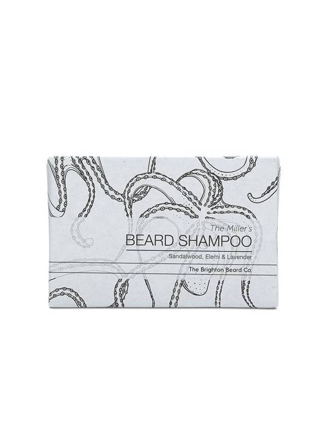 "Champú para Barba ""The Miller's Beard Shampoo Bar"""