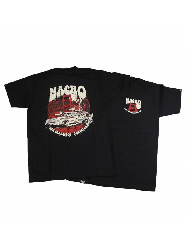 Camiseta San Francisco by Octane de Macho Beard Company