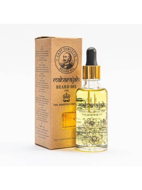 "Aceite para Barba ""Maharajah Beard Oil"" de Captain Fawcett (50ml)"