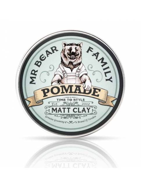 "Pomada para el cabello ""Matt Clay"" de Mr. Bear Family"