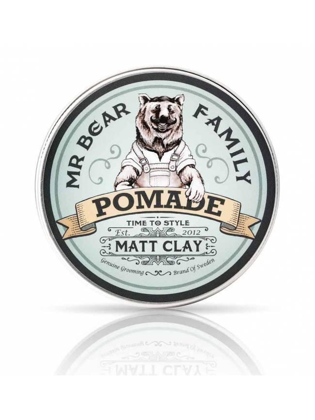 """Pomada para el cabello """"Matt Clay"""" de Mr. Bear Family"""