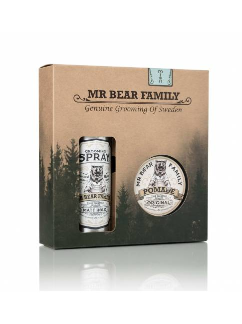 "Pack Spray y Pomada para Cabello ""Sweetwood"" de Mr. Bear Family"