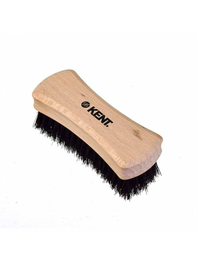 "Cepillo Pequeño para Barba ""Kent BRD6"" de Haya con cerdas naturales"