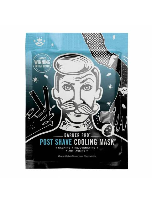 "Mascarilla Calmante Post Afeitado ""Post Shave Cooling Mask"" de Barber Pro"