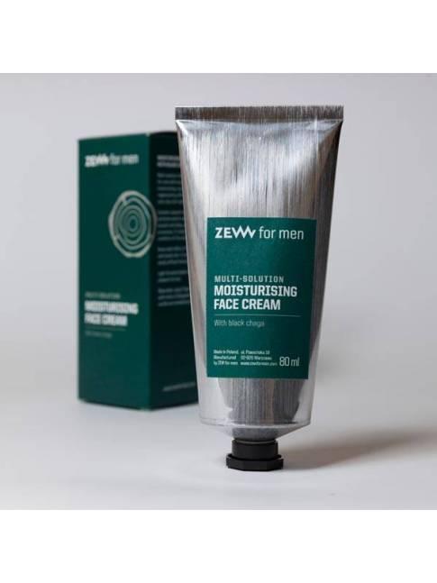 "Crema Hidratante Facial Black Chaga de ""Zew"" (80ml)"