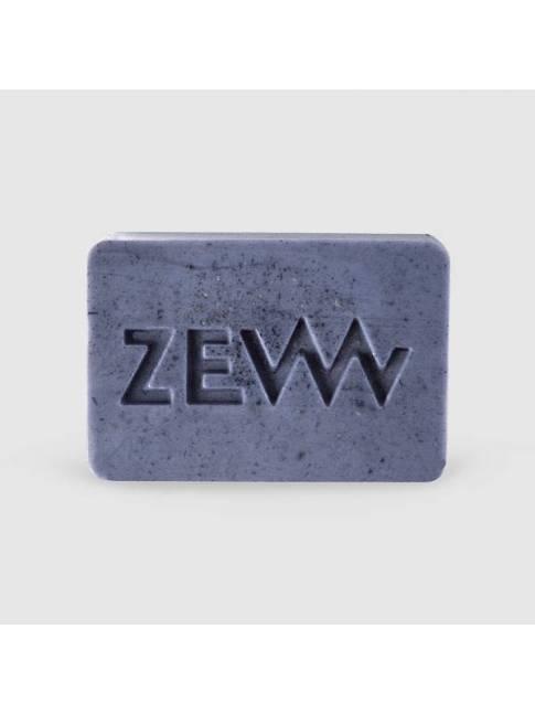 """Jabón Afeitado con Carbón Vegetal """"Zew"""" (85gr)"""