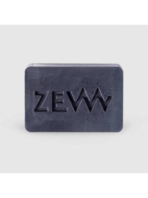"""Jabón para Barba con Carbón Vegetal de """"Zew"""" (85ml)"""