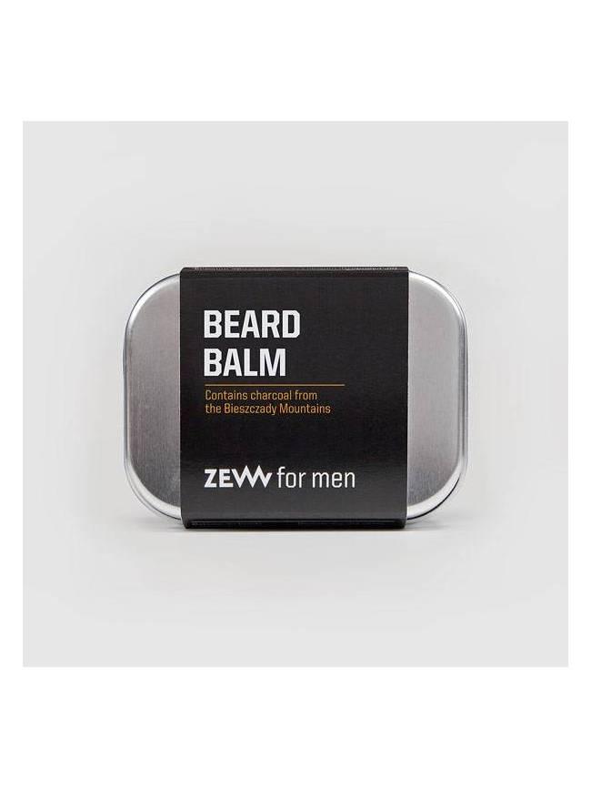 """Bálsamo para Barba con Carbón Vegetal de """"Zew"""" (80ml)"""