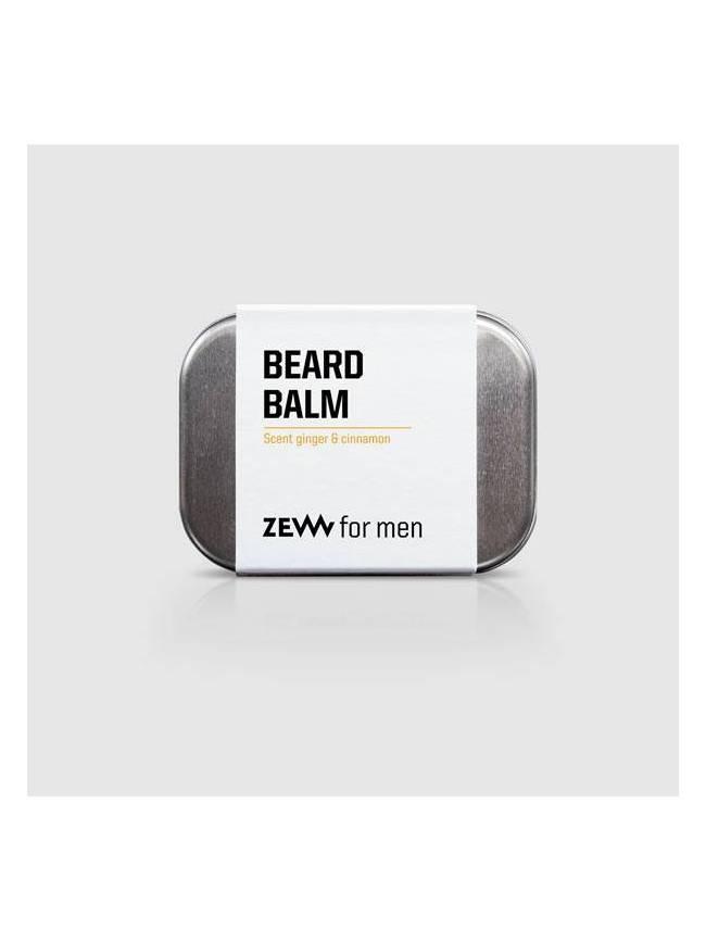"""Bálsamo para Barba con Carbón Vegetal, Gengibre y Canela de """"Zew"""" (80ml)"""