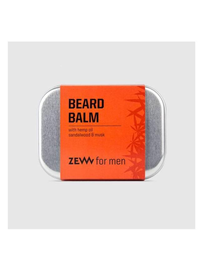 "Bálsamo para Barba con Aceite de Cáñamo, Sándalo y Musgo de ""Zew"" (80ml)"