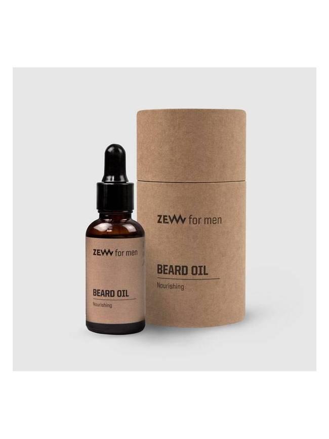 "Aceite para Barba Nutritivo de ""Zew"" (30ml)"