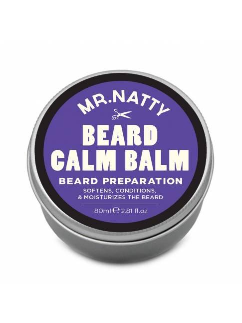 """Bálsamo Calmante para Barba """"Beard Calm Balm"""" de Mr. Natty (80ml)"""