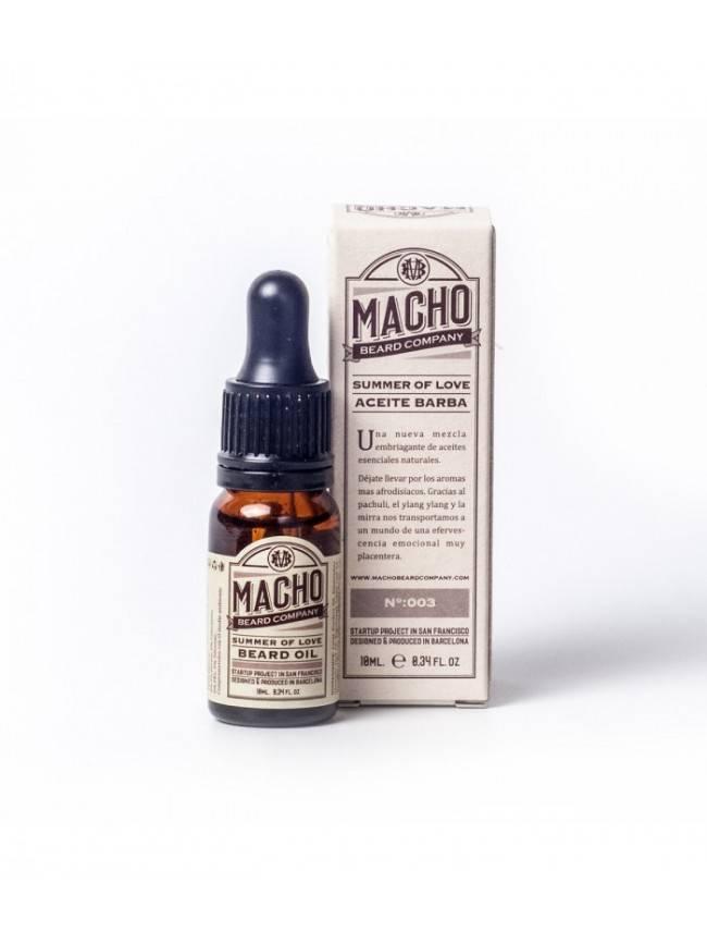 Pack de Aceite, Cera y Bálsamo para Barba Macho Beard Co y Peine Kent