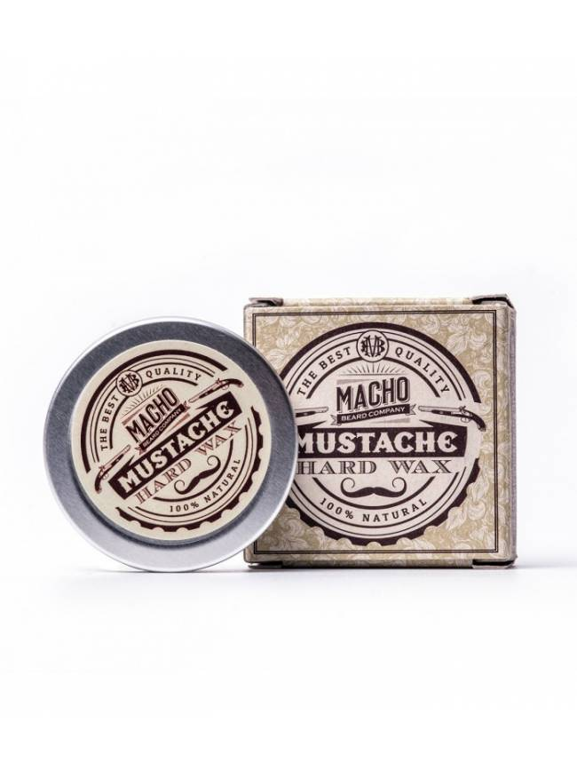 """Cera para Bigote """"Macho Beard Company Hard Wax"""" (15ml)"""