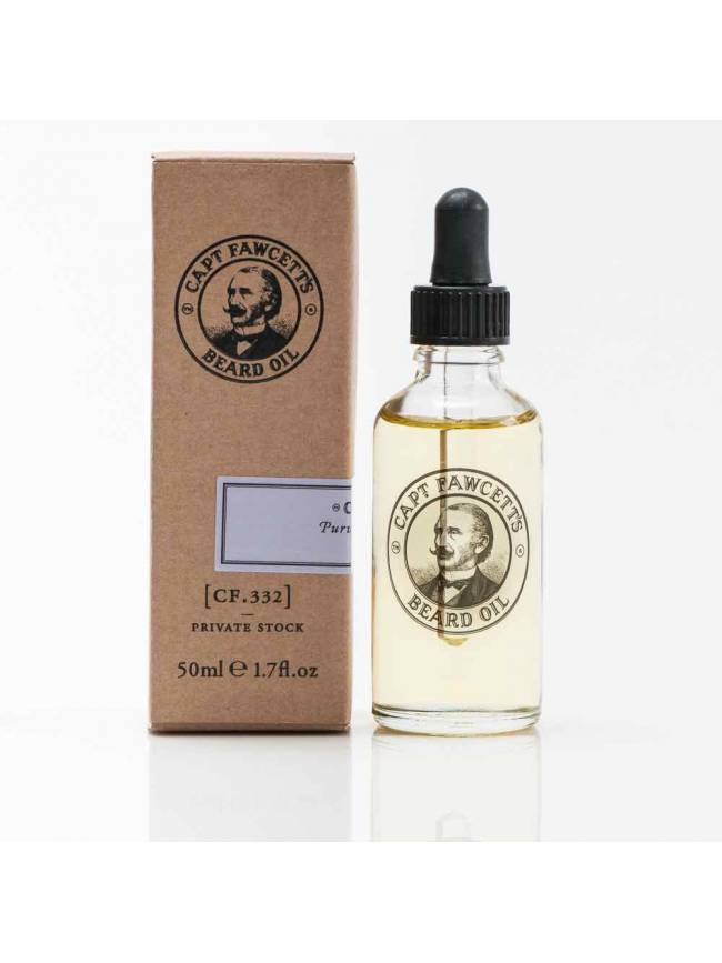 "Aceite para Barba ""Captain Fawcett's (CF.332) Private Stock Beard Oil"" (50ml)"