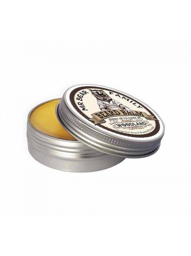 "Bálsamo para Barba ""Mr Bear Family Beard Balm Woodland"" (60ml)"