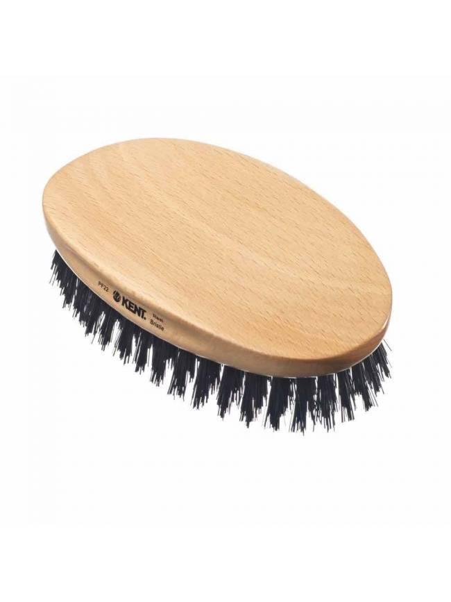 "Cepillo para Barba ""Kent PF22"" de Haya con cerdas naturales"