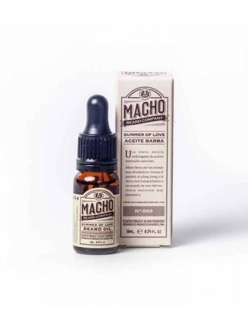 """Aceite para Barba """"Macho Beard Company Summer of Love"""" (10ml)"""