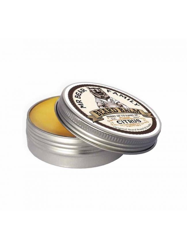 "Bálsamo para Barba ""Mr Bear Family Beard Balm Citrus"" (60ml)"