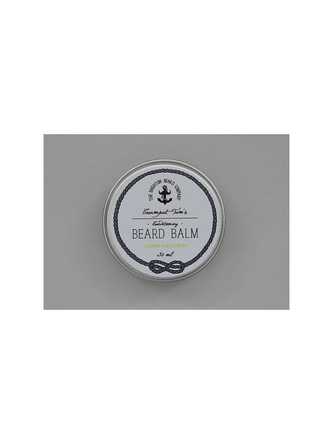 "Bálsamo para Barba ""Creampot Tom's Jasmin & Lemon Beard Balm"" (30ml)"