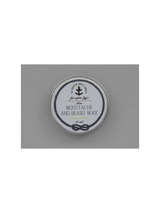 "Cera para Bigote y Barba ""Jevington Jigg's Jasmin & Lemon Firm Moustache Wax"""