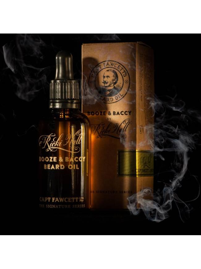 """Aceite para Barba """"Captain Fawcett's Ricki Hall's Booze & Baccy Beard Oil"""" (50ml)"""