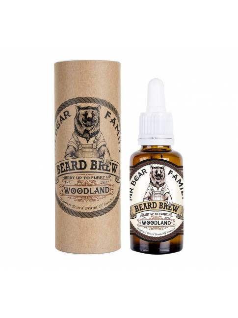 "Aceite para Barba ""Mr Bear Family Beard Brew Woodland"" (30ml)"