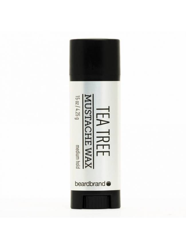 "Cera para Bigote ""BeardBrand Tea Tree Moustache Wax"" (4,25gr)"