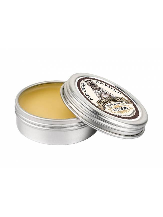 "Cera para Bigote ""Mr Bear Family Moustache Wax Citrus"" (30ml)"