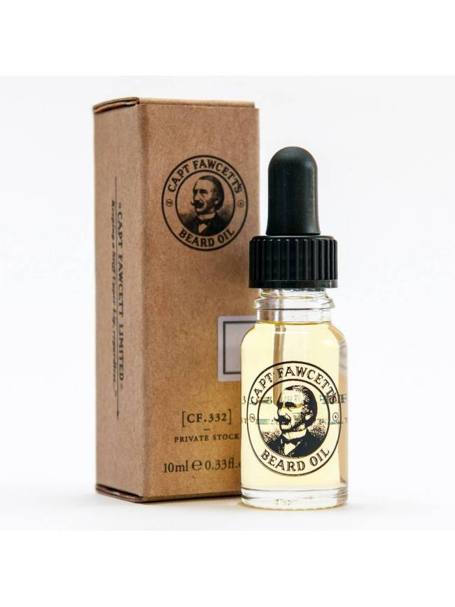"Aceite para Barba ""Captain Fawcett's (CF.332) Private Stock Beard Oil"" (10ml)"