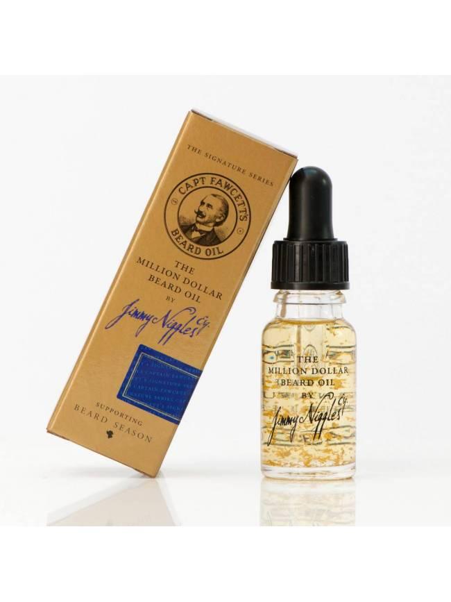 "Aceite para Barba ""Jimmy Niggles Esq. The Million Dollar Beard Oil"" (10ml)"