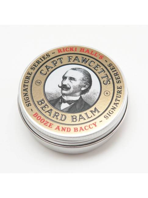 "Bálsamo para Barba ""Captain Fawcett's Ricki Hall Booze & Baccy"" (60ml)"