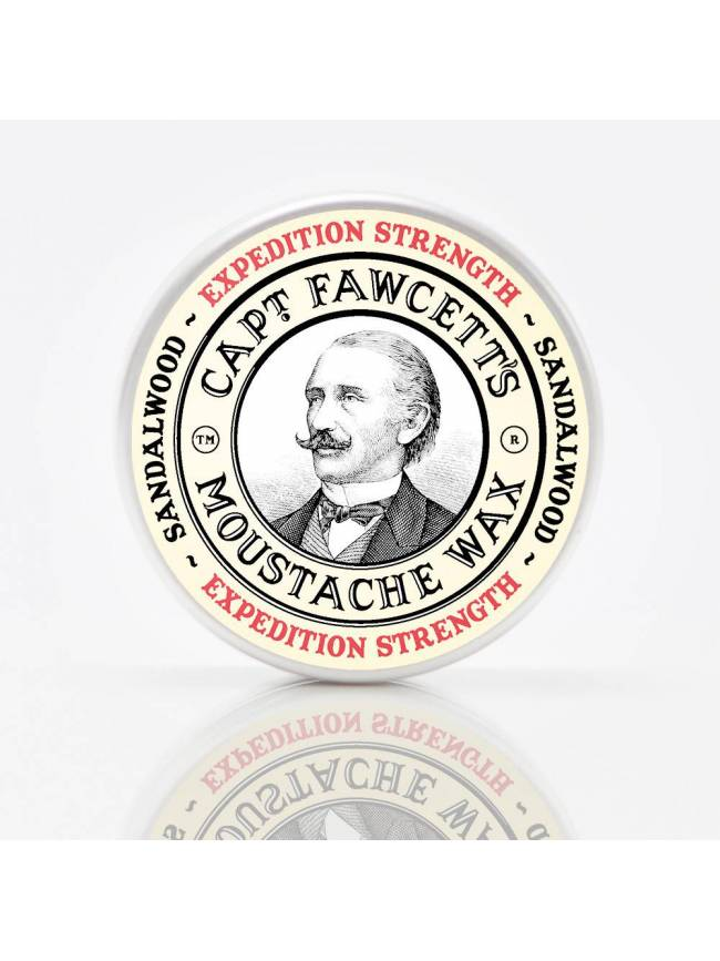 "Cera para Bigote ""Captain Fawcett's Expedition Strength Moustache Wax"" (15ml)"