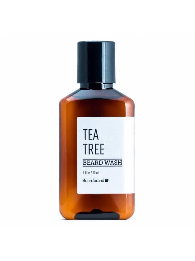 """Champú para Barba """"BeardBrand Tea Tree Beard Wash"""" (250ml)"""