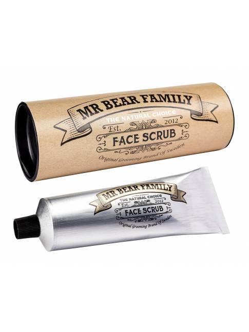 "Exfoliante Facial ""Mr Bear Family Face Scrub"" (30ml)"